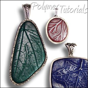 Pendants tutorial leaf imprints and silver frames polymer tutorials image for polymer clay tutorial pendants with leaf imprints and silver frames or bezels mozeypictures Image collections