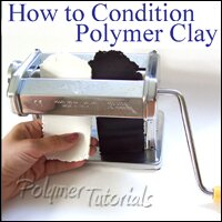 Image for polymer clay conditioning