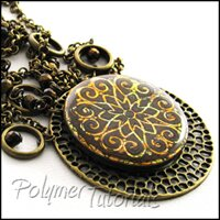Fantastic Filigree Polymer Clay Tutorial