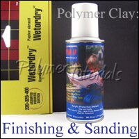 Image for sanding and buffing polymer clay