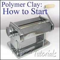 Image how to start working with polymer clay