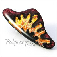 Polymer Clay Brooch Tutorial