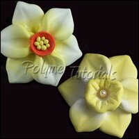 Polymer Clay Daffodils Tutorial